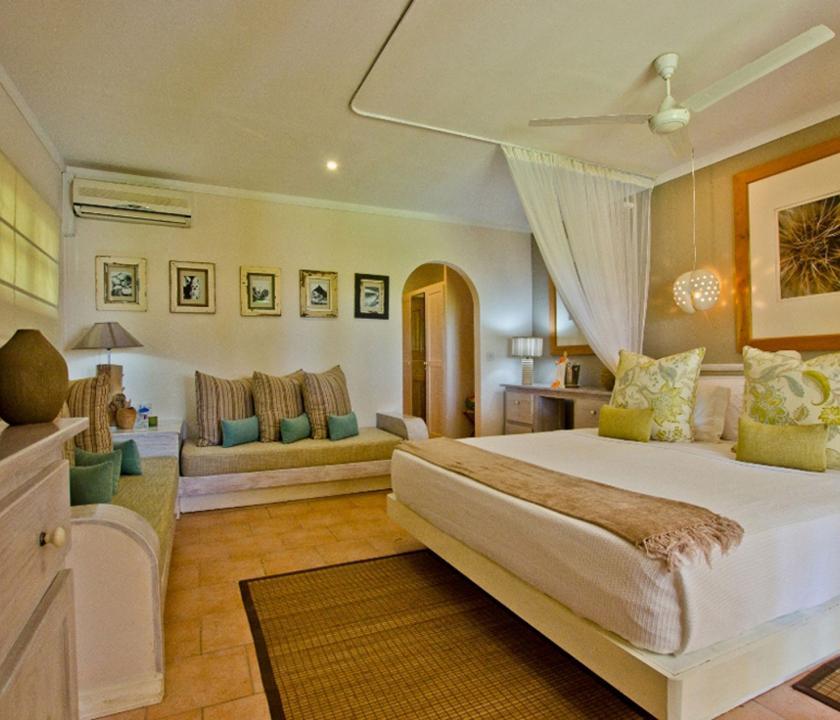 Indian Ocean Lodge / Standard room - hálószoba (Seychelle szigeteki utazások)