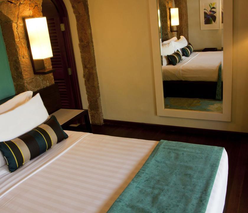 Paradise Sun Hotel / Superior room - hálószoba (Seychelle szigeteki utazások)