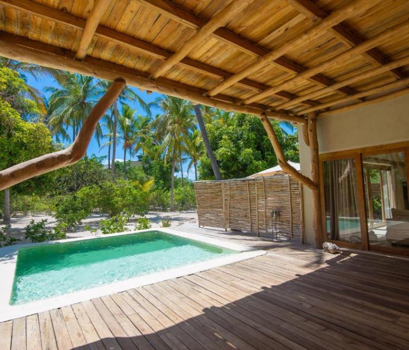 Zanzibar White Sand Luxury Villas & Spa - Relais & Chateaux / Deluxe Family room with Private Pool (Zanzibári - Tanzániai utazások)