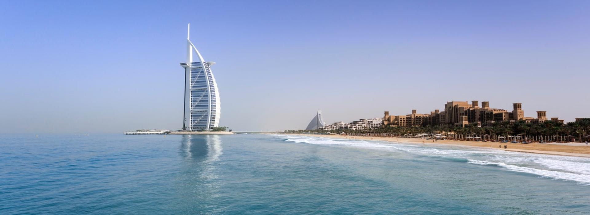 Dubai tengerpartja és strandjai